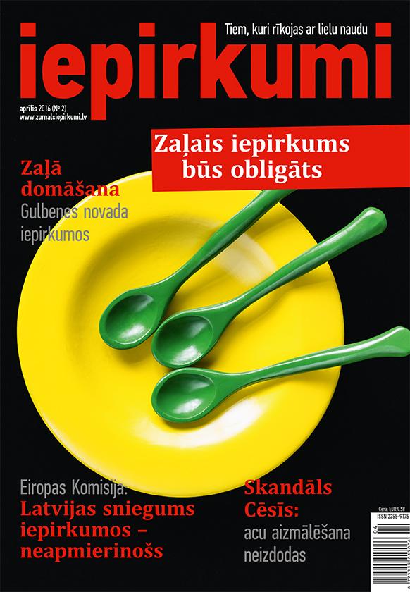 Žurnāls Iepirkumi Aprīlis 2016