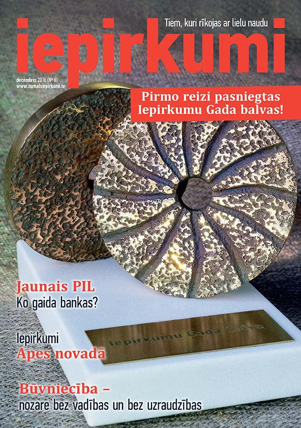 Žurnāls Iepirkumi Decembris 2016