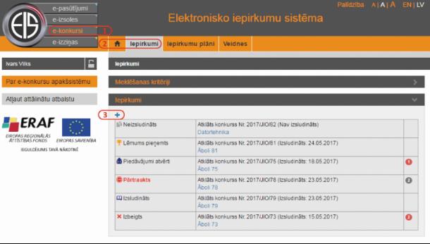 Post image for Valsts reģionālās attīstības aģentūra (VRAA) par Elektronisko iepirkumu sistēmas izmantošanu