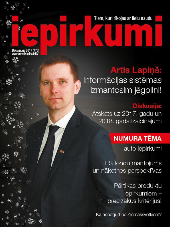 Žurnāls Iepirkumi Decembris 2017