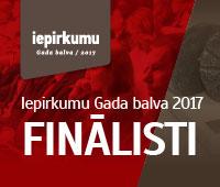 Thumbnail image for Noskaidroti Iepirkumu Gada balvas 2017 finālisti
