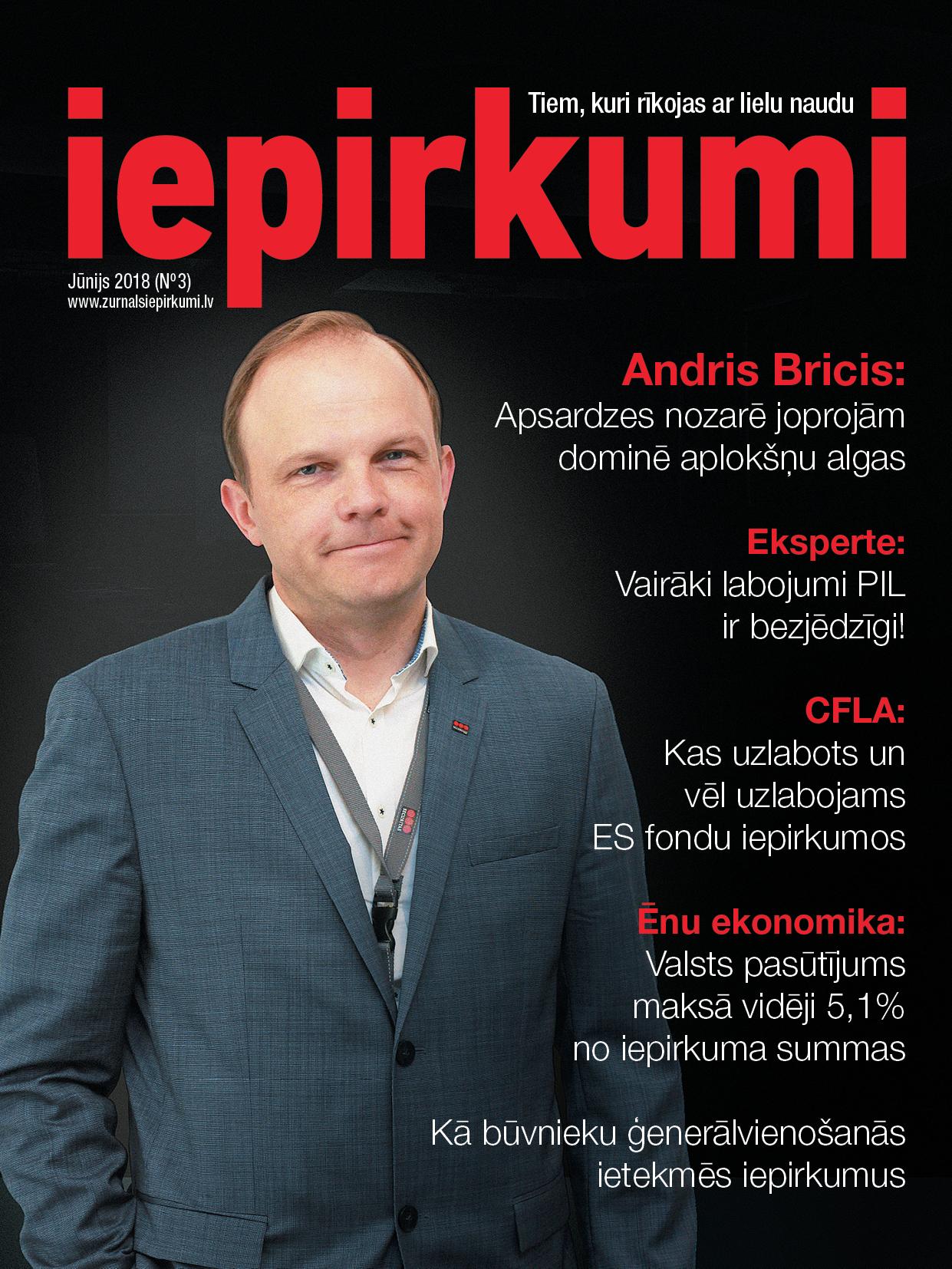 Žurnāls Iepirkumi Jūnijs 2018