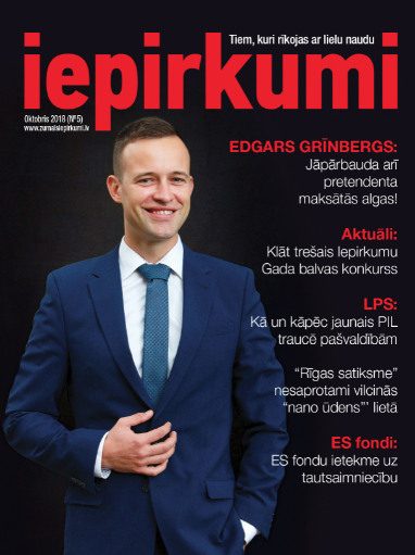 Žurnāls Iepirkumi Oktobris 2018