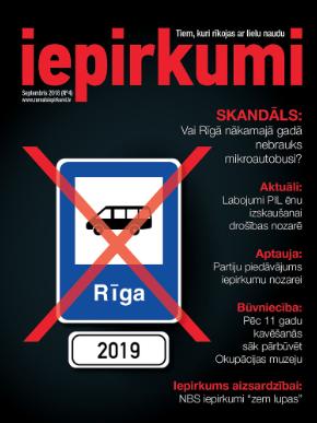 Žurnāls Iepirkumi Septembris 2018
